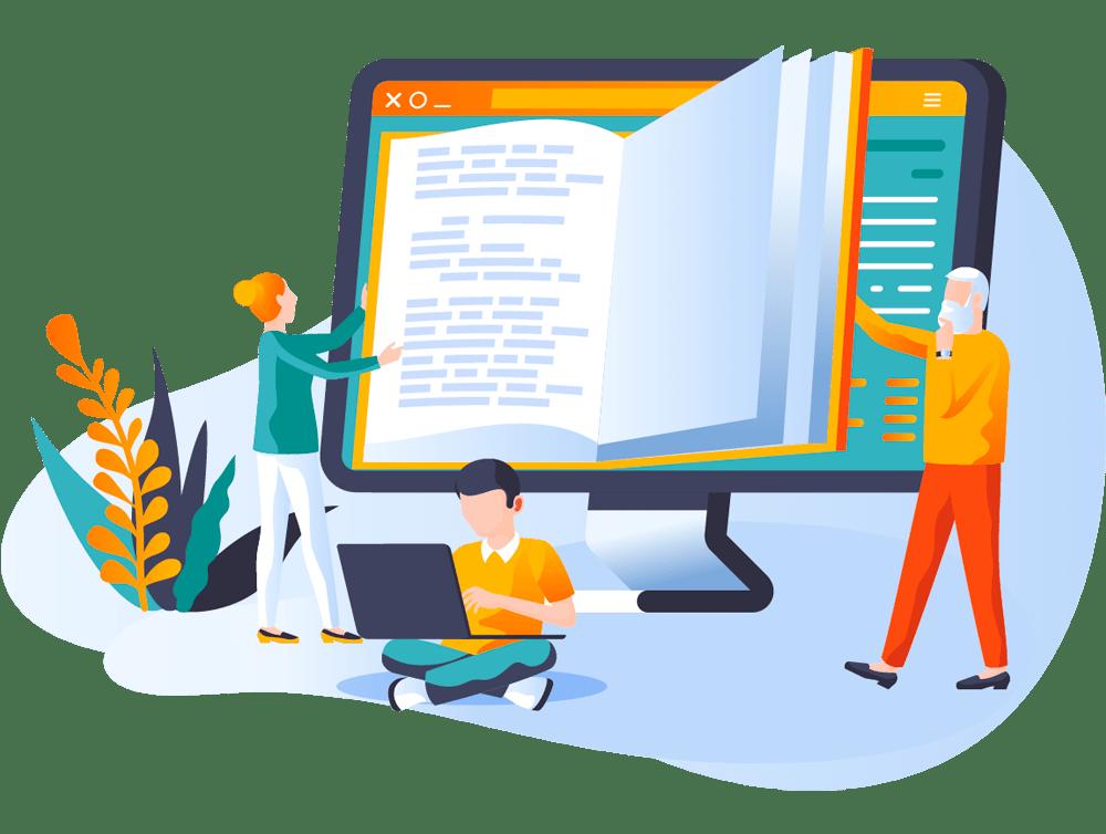 Academia Online Diseño Web