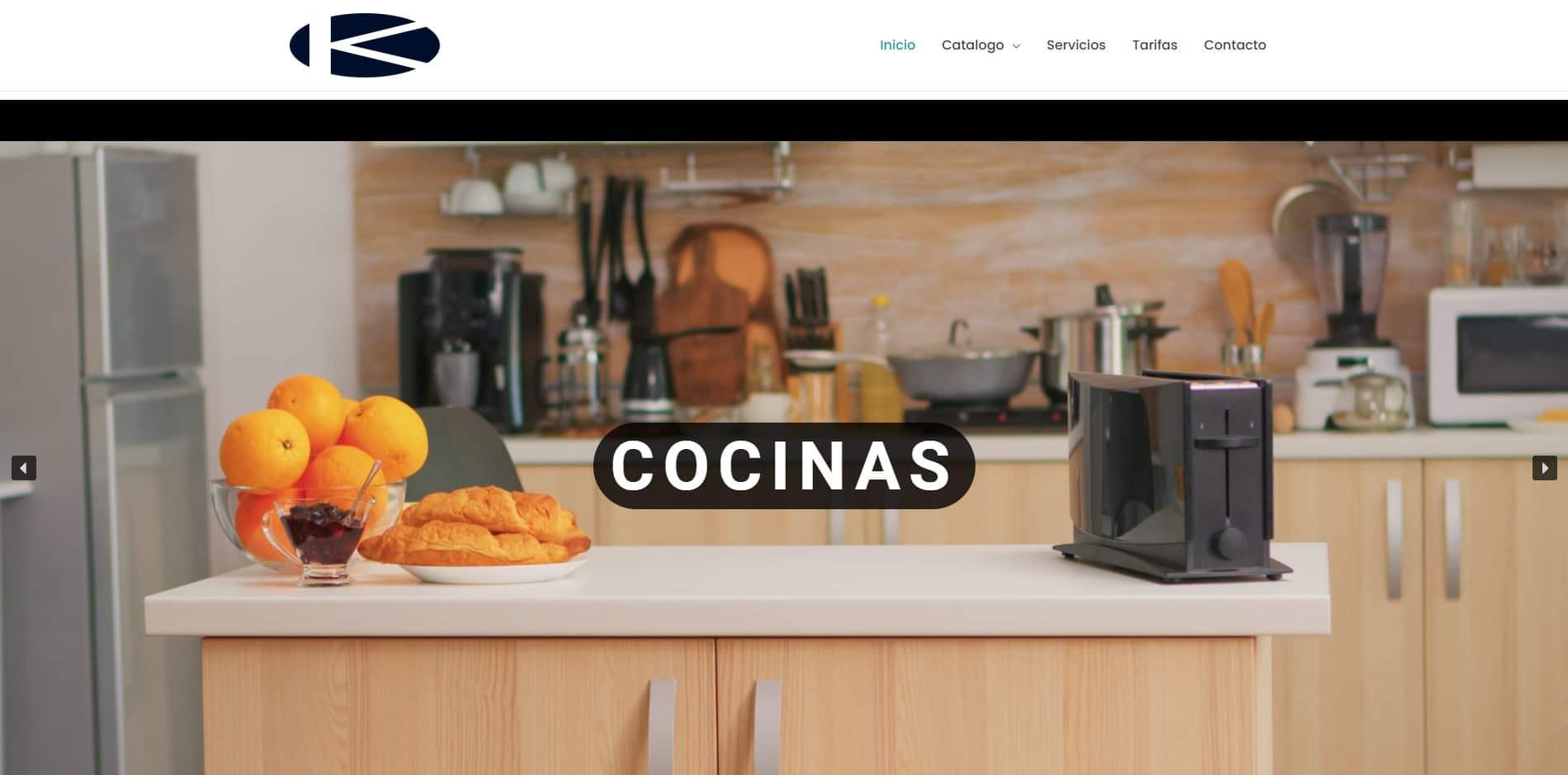 Diseño Web en WordPress Personalizado Kitcosur