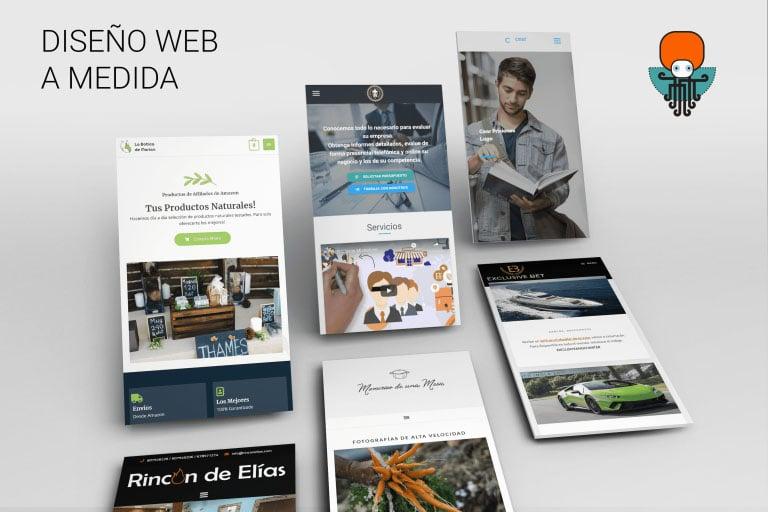 Diseño web en Octonove para cualquier Plataforma Web